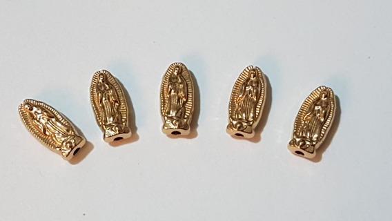 Virgen Guadalupe 12mm D Pewter 35 Piezas Pulseras/bisuteria.