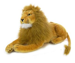 León De Peluche Grande Rey León De Peluche Importado !!