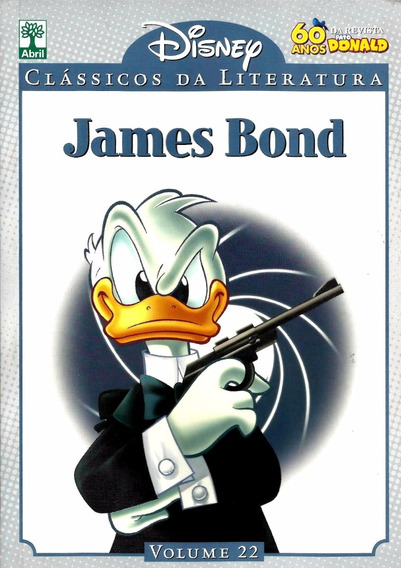Clássicos Da Literatura Disney Vol 22. James Bond.
