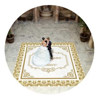 Pista De Dança Para Casamento Realeza Arabesco Ps02 - 3x3m