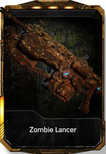 Lancer Zombie Gears Of War 4