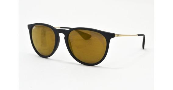 Óculos De Sol Ray Ban Erika Rb4171l 62177d Acetato Unissex