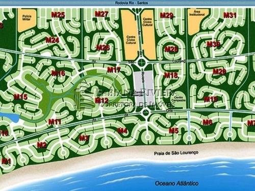 Lote Em Riviera - Módulo 16 - Golfe: 713,85m²