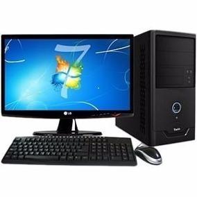 Cpu Core 2 Duo 4gb, Hd 320,gravador Dvd,frete Grátis Lcd 19