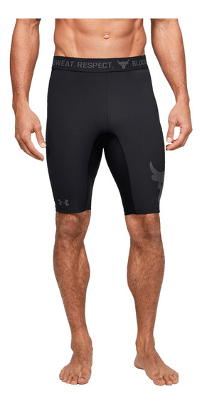 Short Under Armour Fitness Project Rock Negro