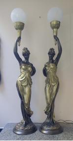 Luminaria Lady De Petit Bronze ( A1 / A2 )