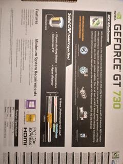 Tarjeta De Video Nvidia Gt 730