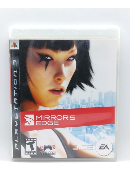 Mirrors Edge Ps3 Midia Fisica Parkour Jogo Game Play 3