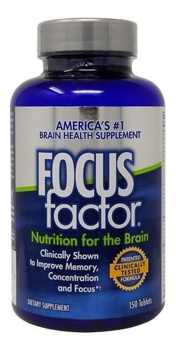 Focus Factor Suplemento Para Memoria 150 Tablets