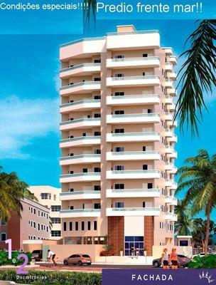 Apartamento Frente Mar Praia Grande Sem Comprovação De Renda