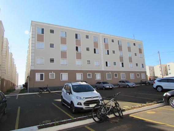 Apartamento Para Aluguel, 2 Quartos, 1 Vaga, Loteamento Industrial Machadinho - Americana/sp - 17740
