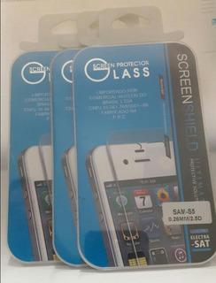 Películas Vidros ( São 3 Peças) Samsung Galaxy S5 / S5 New