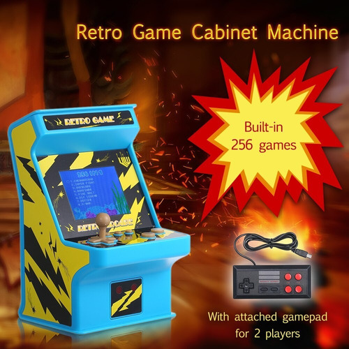 Consola Retro Game Arcade+joystick 18x11x11 Titan Belgrano