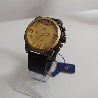 Relógio Pulseira De Couro Orizom Original
