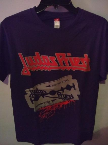 Playera Judas Priest , Talla Juvenil