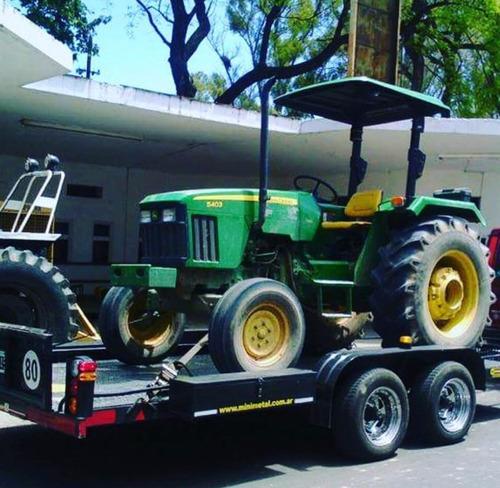 Imagen 1 de 14 de Trailer Para Auxilios Y Traslados Vehicular - 5.000kgs.