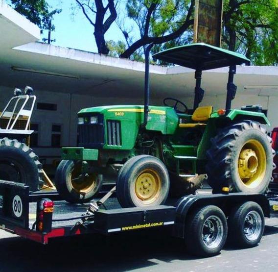 Trailer Para Auxilios Y Traslados Vehicular - 5.000kgs.