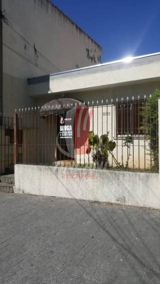 Casa Térrea Para Locação No Bairro Do Tatuapé - 4 Salas - 150 M - 2875