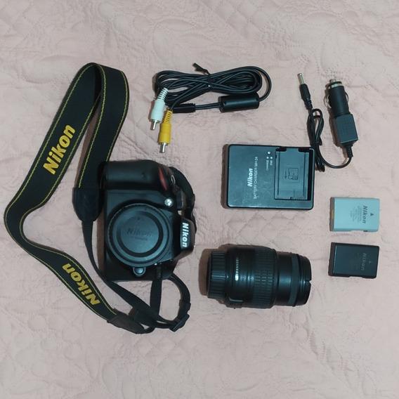 Câmera Digital Nikon D3200 + Lente 18-55mm