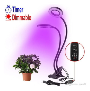 Flexible 15w 48 Led Plant Grow Light 6 Brightness Levels Cli