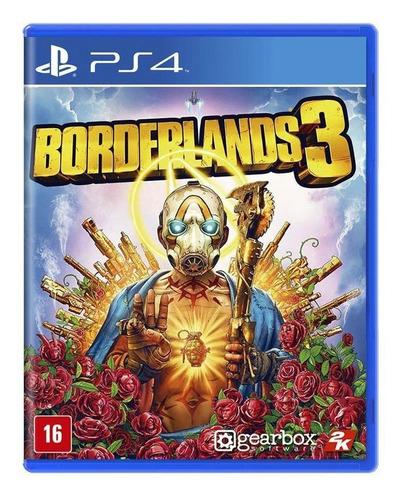 Borderlands 3 Ps4 Mídia Física Novo Lacrado