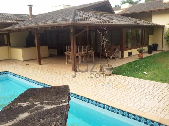 Casa Residencial À Venda, Alphaville Campinas, Campinas. - Ca2553