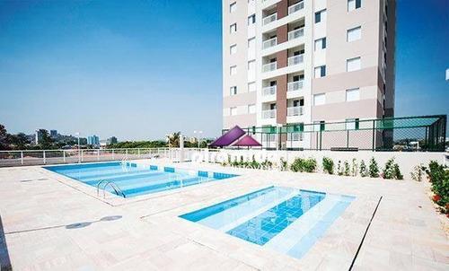 Apartamento Com 2 Dormitórios À Venda, 60 M² Por R$ 285.000,00 - Jardim Paraíba - Jacareí/sp - Ap12841