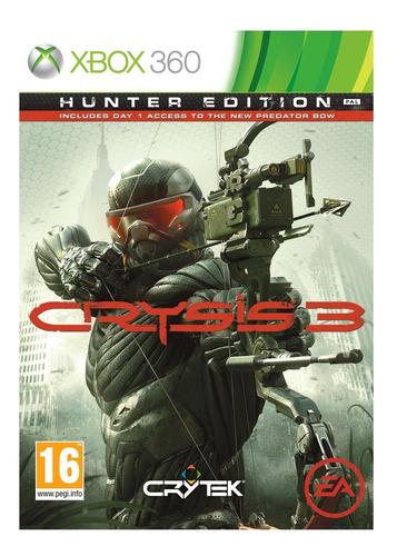 Crysis 3 Hunter Edition Xbox 360 Juego Original Físico