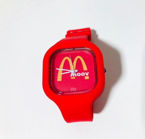 Relógio De Pulso Digital Colorido Grandes Marcas Moov Watche