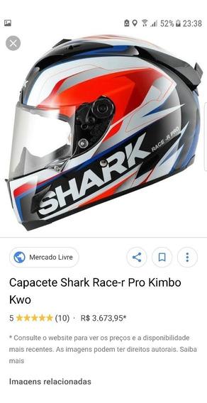 Capacete Shark Race R Pro Kimbo Kwo