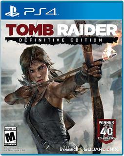 Tomb Raider Definitive Edition Ps4 Nuevo Sellado Envio Grati