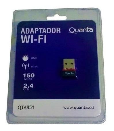 Adaptador Quanta Wifi 150mbps Usb