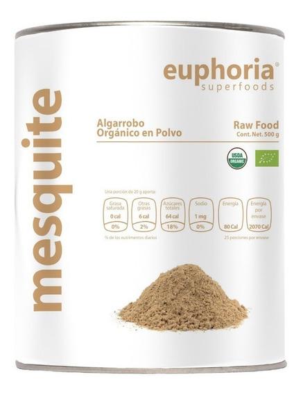 100% Mesquite O Algarrobo Orgánico En Polvo 500g