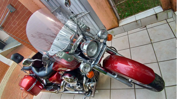 Honda Shadow - 750cc Vermelha