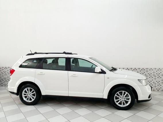 Dodge Journey Sxt 3.6 V6 2015 Branco Único Dono Baixa Km