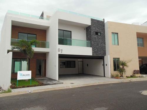 Imagen 1 de 14 de Hermosa Casa En Venta Con Alberca En Lomas Del Sol Veracruz