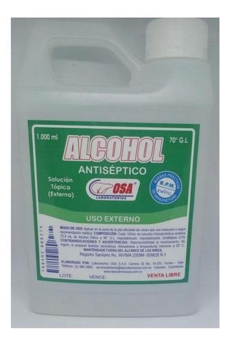 Alcohol Antiséptico Osa Combo X 2 - L a $5450