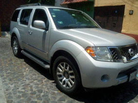 Nissan Pathfinder Exclusive V6 At Seminueva 2012