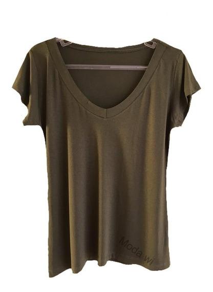 Blusa Feminino Shirt Podrinha Varias Cores P M G