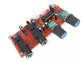 Pré Amplificador Microfone Duplo(efeito Eco)montado