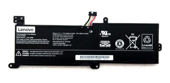 Bateria Lenovo Ideapad 320 15 L16i2pb2 7.4v 4050mah Nova