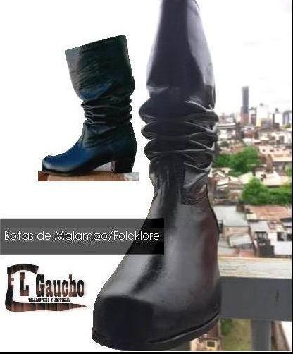 Botas De Malambo, Folclore | El Gaucho |talle:35al37|clasica