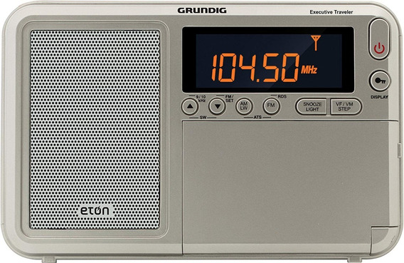 Radio Grundig Eton Traveller Iii Am Fm Rds Ondas Curtas