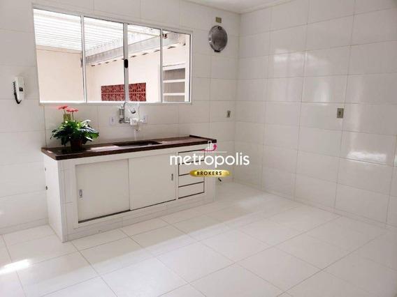 Casa À Venda, 163 M² Por R$ 635.000,00 - Santa Maria - São Caetano Do Sul/sp - Ca0297