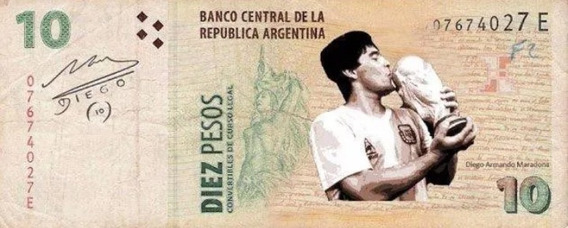 Billete Maradona