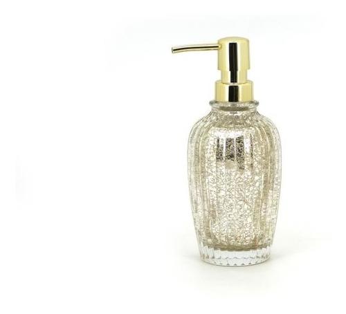 Dispenser De Jabon Liquido Luxury Gold Dorado