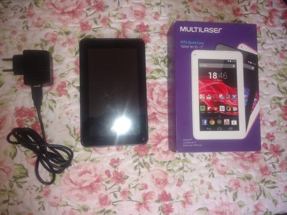 Tablet Multilaser M7s Plus Quad Core Câmera 8gb Ram Usado*