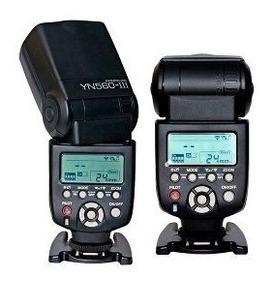 Flash Yn560lll Para Canon E Nikon Sony Yongnuo Universal