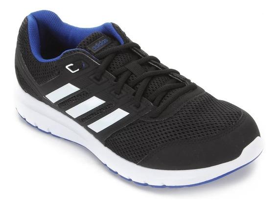 Tênis adidas Duramo Lite 2.0 - Masculino - Preto/branco/azul