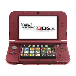 Consola Nintendo New 3ds Xl, Rojo [descontinuada]